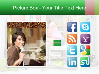 Woman In Boutique PowerPoint Templates - Slide 21