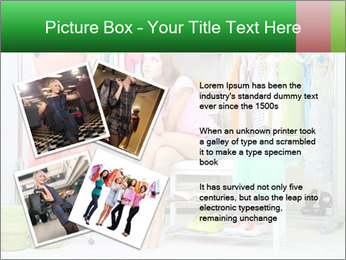 Woman In Boutique PowerPoint Template - Slide 23