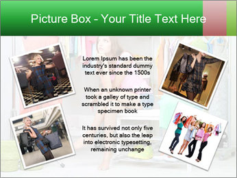 Woman In Boutique PowerPoint Templates - Slide 24