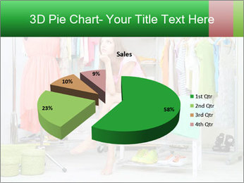 Woman In Boutique PowerPoint Templates - Slide 35