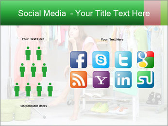 Woman In Boutique PowerPoint Template - Slide 5