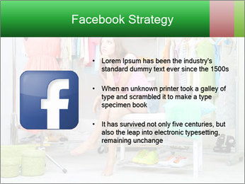 Woman In Boutique PowerPoint Template - Slide 6