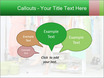 Woman In Boutique PowerPoint Templates - Slide 73