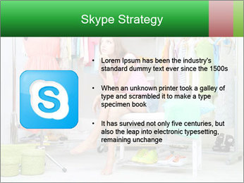 Woman In Boutique PowerPoint Templates - Slide 8