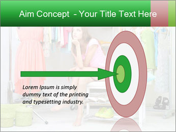 Woman In Boutique PowerPoint Templates - Slide 83