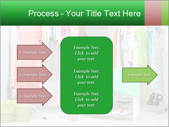 Woman In Boutique PowerPoint Template - Slide 85