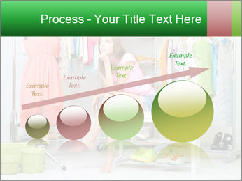 Woman In Boutique PowerPoint Templates - Slide 87