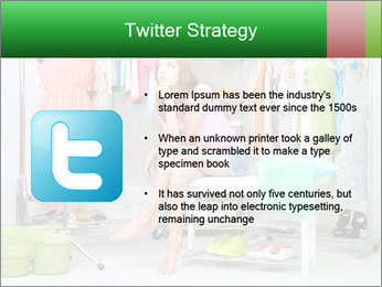 Woman In Boutique PowerPoint Template - Slide 9