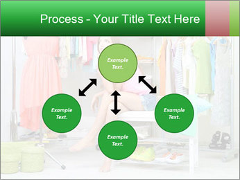 Woman In Boutique PowerPoint Template - Slide 91