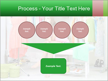 Woman In Boutique PowerPoint Templates - Slide 93