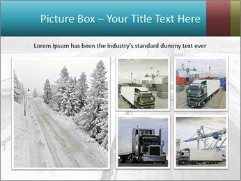 Snowy Highway PowerPoint Template - Slide 19