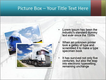 Snowy Highway PowerPoint Template - Slide 20