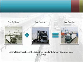 Snowy Highway PowerPoint Template - Slide 22