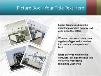 Snowy Highway PowerPoint Template - Slide 23