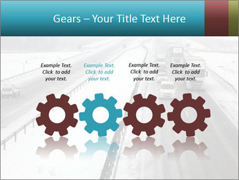 Snowy Highway PowerPoint Templates - Slide 48