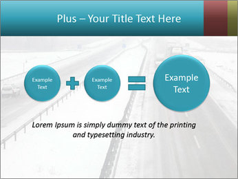 Snowy Highway PowerPoint Templates - Slide 75