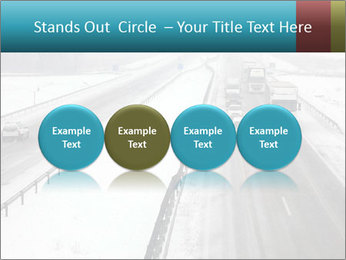 Snowy Highway PowerPoint Templates - Slide 76