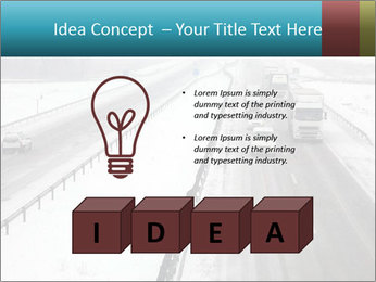 Snowy Highway PowerPoint Templates - Slide 80