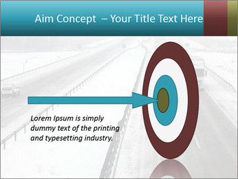 Snowy Highway PowerPoint Templates - Slide 83