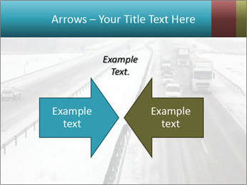 Snowy Highway PowerPoint Templates - Slide 90
