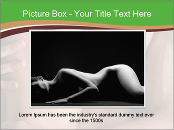 Undressed Couple PowerPoint Template - Slide 15
