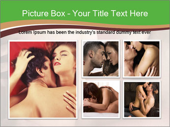 Undressed Couple PowerPoint Template - Slide 19