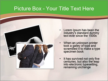 Undressed Couple PowerPoint Template - Slide 20