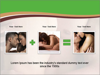 Undressed Couple PowerPoint Template - Slide 22