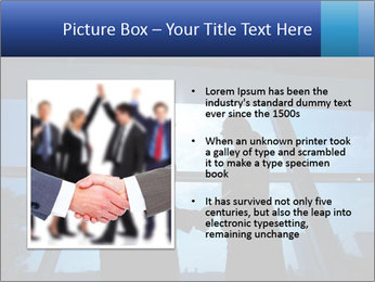 Shadows of Two Colleagues PowerPoint Templates - Slide 13