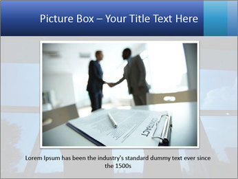 Shadows of Two Colleagues PowerPoint Template - Slide 15