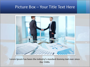 Shadows of Two Colleagues PowerPoint Templates - Slide 16