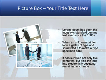 Shadows of Two Colleagues PowerPoint Template - Slide 20