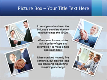 Shadows of Two Colleagues PowerPoint Template - Slide 24