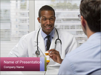 American Doctor PowerPoint Templates - Slide 1