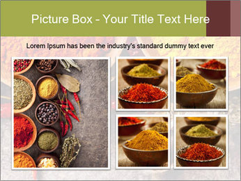 Aroma Spices PowerPoint Template - Slide 19