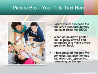 Schoolchildren Making Notes PowerPoint Template - Slide 13