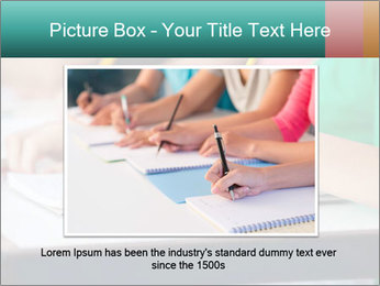 Schoolchildren Making Notes PowerPoint Template - Slide 16