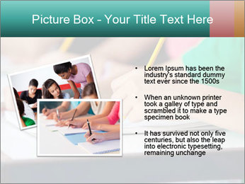 Schoolchildren Making Notes PowerPoint Template - Slide 20