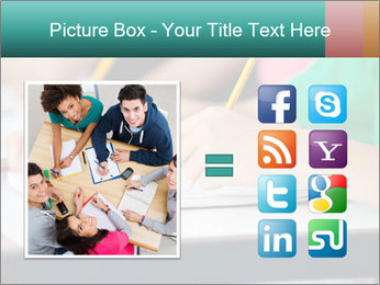 Schoolchildren Making Notes PowerPoint Template - Slide 21