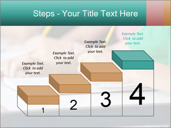Schoolchildren Making Notes PowerPoint Template - Slide 64