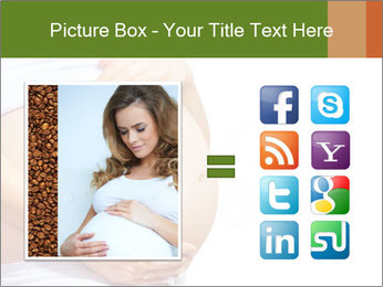 Woman With Big Pregnant Belly PowerPoint Templates - Slide 21