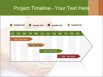 Woman With Big Pregnant Belly PowerPoint Templates - Slide 25