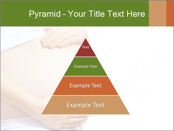 Woman With Big Pregnant Belly PowerPoint Template - Slide 30