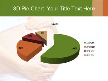 Woman With Big Pregnant Belly PowerPoint Templates - Slide 35