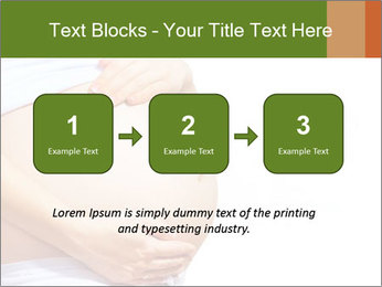 Woman With Big Pregnant Belly PowerPoint Template - Slide 71