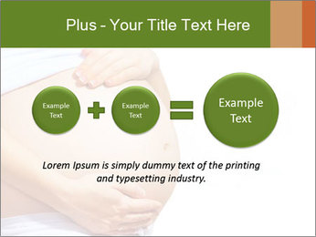 Woman With Big Pregnant Belly PowerPoint Templates - Slide 75