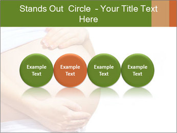 Woman With Big Pregnant Belly PowerPoint Template - Slide 76