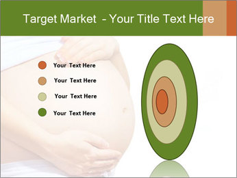 Woman With Big Pregnant Belly PowerPoint Template - Slide 84
