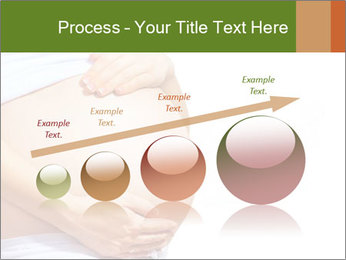 Woman With Big Pregnant Belly PowerPoint Template - Slide 87