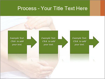 Woman With Big Pregnant Belly PowerPoint Templates - Slide 88